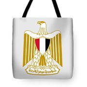 Egypt Coat Of Arms Tote Bag
