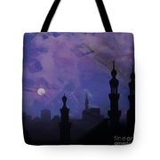 Egypt Mosque  Tote Bag