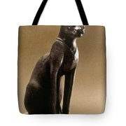 Egyptian Bronze Statuette Tote Bag