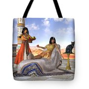 Egyptian Cleopatra Tote Bag