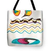 Egyptian Design Tote Bag