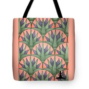 Egyptian Floral Tote Bag