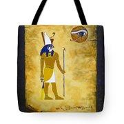 Egyptian God Horus Tote Bag