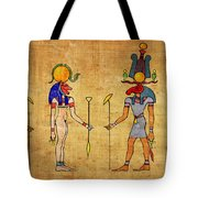 Egyptian Gods And Goddness Tote Bag