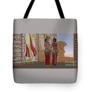 Egyptian King And Queen Tote Bag