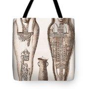 Egyptian Mummy, Illustration Tote Bag