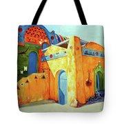 Egyptian Nubian House Tote Bag