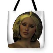 Egyptian Woman Face Tote Bag