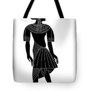 Egyptian Woman Tote Bag