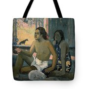 Eiaha Ohipa Or Tahitians In A Room Tote Bag