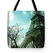 Eifell Tower View From Taxi II. Tote Bag