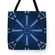 Eiffel Art 17 Tote Bag