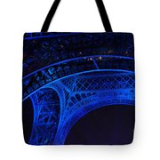 Eiffel Blue Tote Bag
