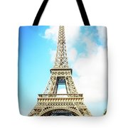 Eiffel Tower Portrait Tote Bag