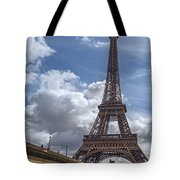 Eiffel Tower And Pont D'lena Tote Bag