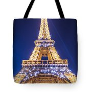 Eiffel Tower At Dusk. Tote Bag