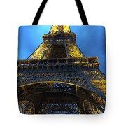 Eiffel Tower At Night. Paris Tote Bag