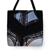 Eiffel Tower Corner Tote Bag