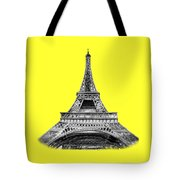Eiffel Tower Design Tote Bag