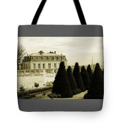 Eiffel Tower From St Cloud Tote Bag