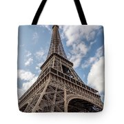 Eiffel Tower In Paris Tote Bag