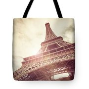 Eiffel Tower In Sunlight Tote Bag