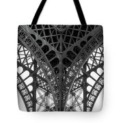 Eiffel Tower Leg Tote Bag