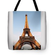 Eiffel Tower Lighted  Tote Bag