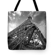 Eiffel Tower Monster Tote Bag