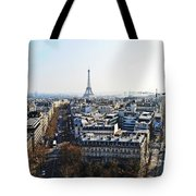 Eiffel Tower Paris France Tote Bag