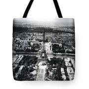 Eiffel Tower Paris In Wwii Tote Bag