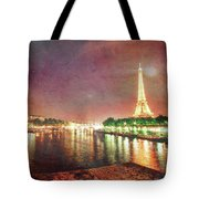 Eiffel Tower Reflections Tote Bag