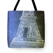 Eiffil Tower Inverted Tote Bag