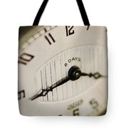 Eight Days A Week Clock Tote Bag