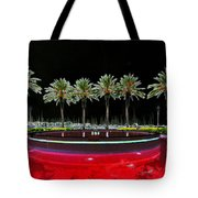 Eight Palms Drinking Wine Tote Bag