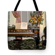 Eighteenth Century Piano And Parlor Tote Bag