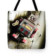 Eighties Cybernetic Droid  Tote Bag