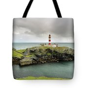 Eilean Glas Lighthouse Tote Bag by Maria Gaellman