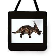 Einiosaurus Side Profile Tote Bag