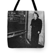Einstein At Princeton University Tote Bag