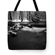 Eisbach In The Winter Tote Bag