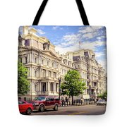 Eisenhower Executive Office Building Tote Bag