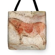 Ekain Cave Horse 2 Tote Bag