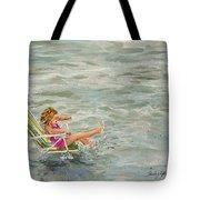 El And Water Tote Bag