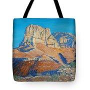 El Capitan At The Guadalupe Peaks Tote Bag