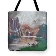 El Capitan Falls Tote Bag