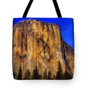 El Capitan Mountain Tote Bag