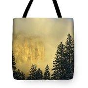 El Capitan Sunrise Glow Tote Bag