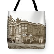 El Carmelo Bakery Lighthouse And Forest Ave. Circa 1890 Tote Bag