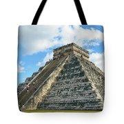 El Castillo Of Chichen Itza Tote Bag